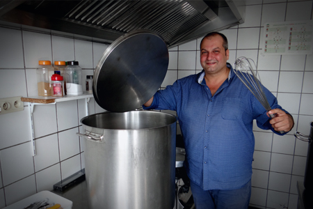 Fabrice ateliers de pontaury for Formateur en cuisine